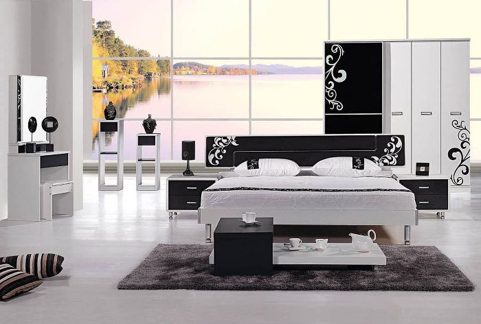 new model bedroom furniture