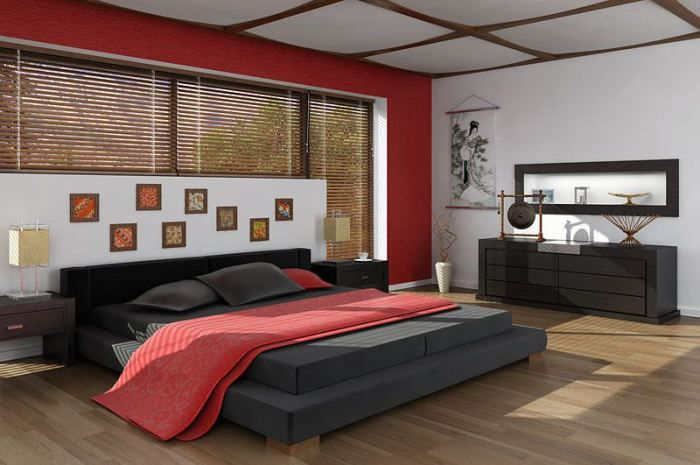 new model bedroom interior