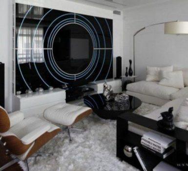 The Stunning Black And White Modern Living Room Design For Stunning Looks