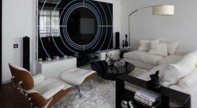 The Stunning Black And White Modern Living Room Design For Stunning Looks