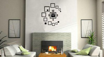 15 Unique Black Living Room Wall Clocks Ideas
