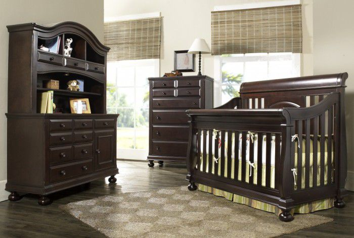 baby furniture sets in espresso