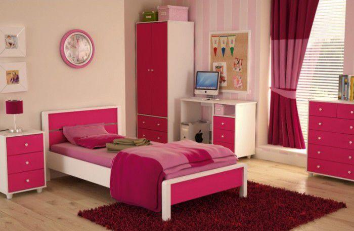 childrens bedroom furniture pink