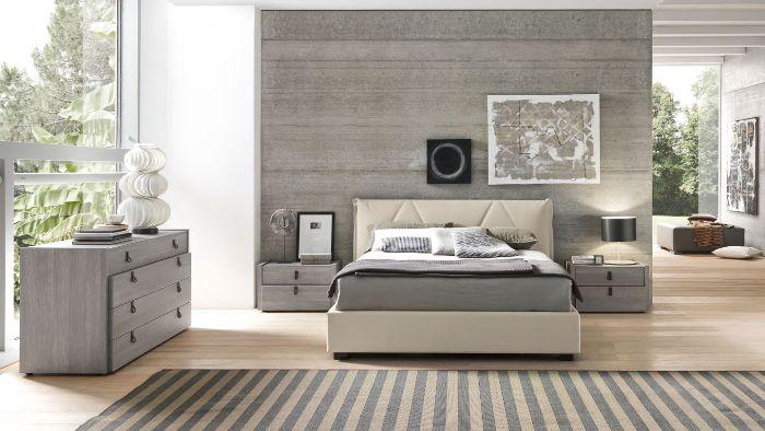 contemporary bedroom furniture grey