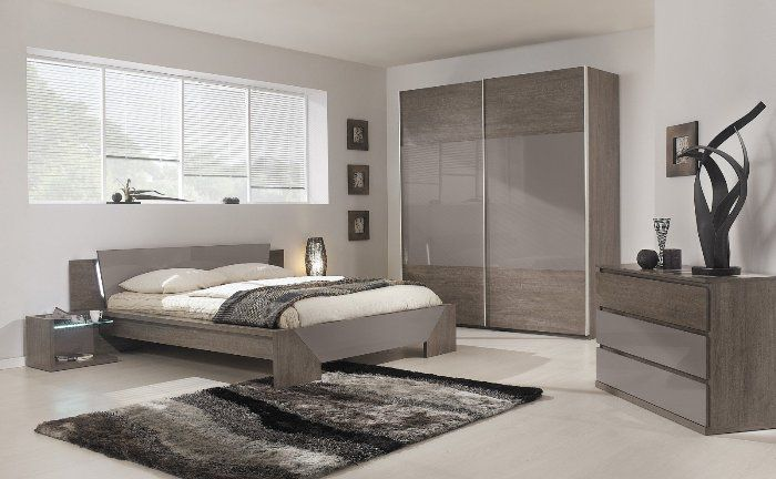 modern bedroom furniture grey