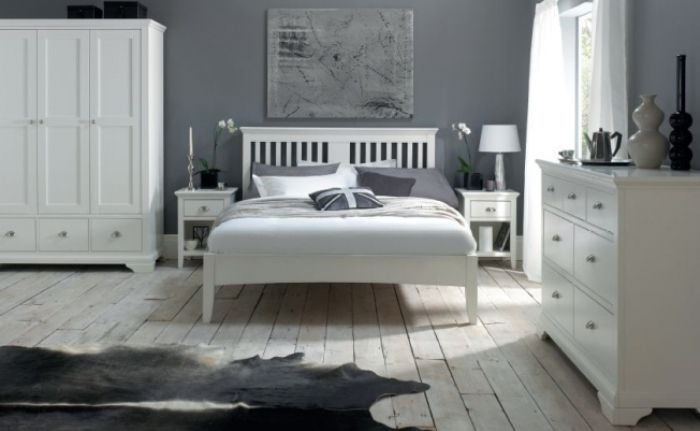 white bedroom furniture at the range