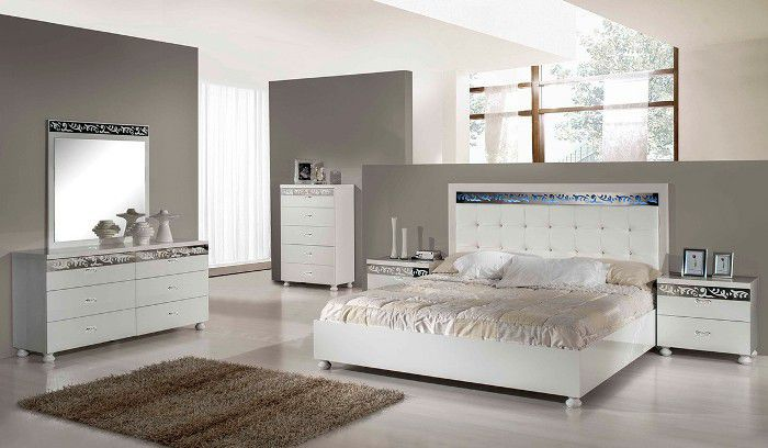 white bedroom furniture contemporary
