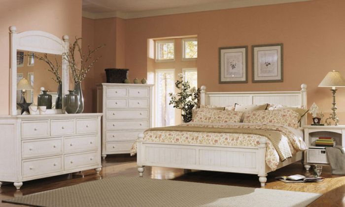 white bedroom furniture full size