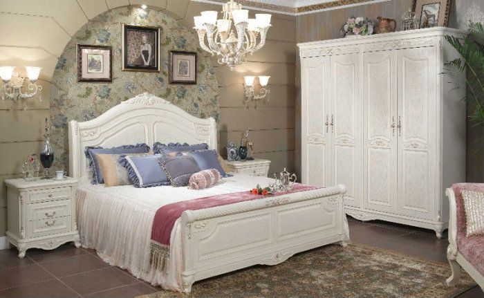 white wooden bedroom furniture