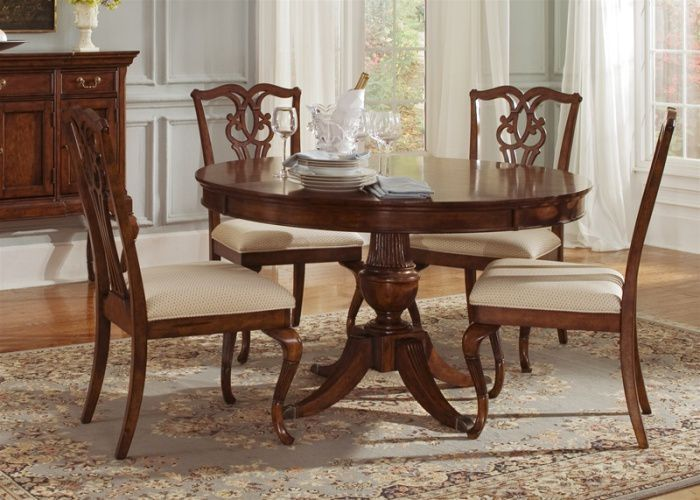 5 Piece Round Kitchen Table Set