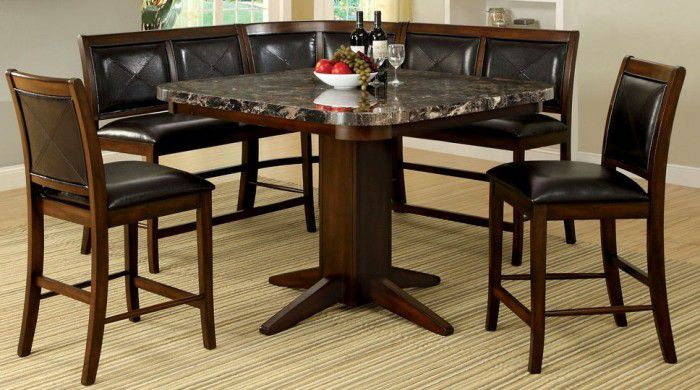 Counter Height Stone Dining Tables