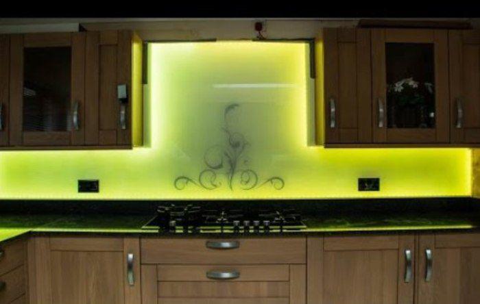 Led Lighting Kitchen Splashback
