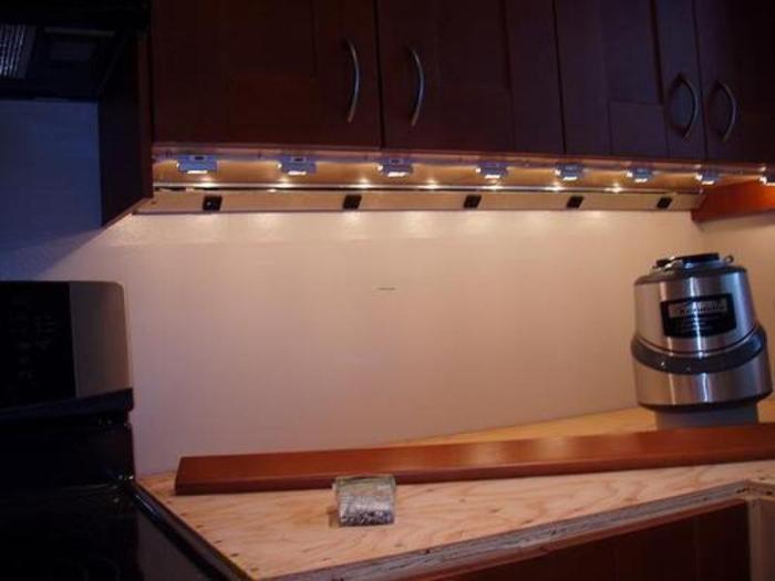 Led Under Cabinet Lighting Hardwired