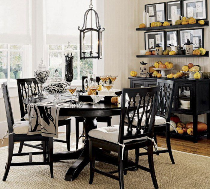 Round Kitchen Table Centerpiece Ideas