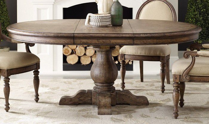 Round Kitchen Table Pedestal Base