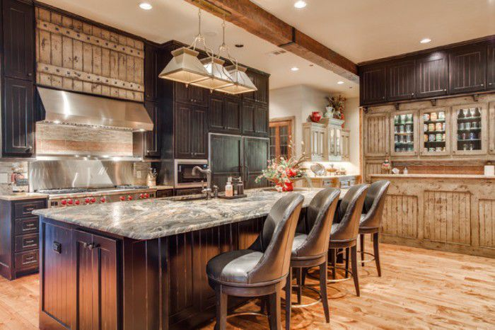 Rustic Chic Kitchen Designs