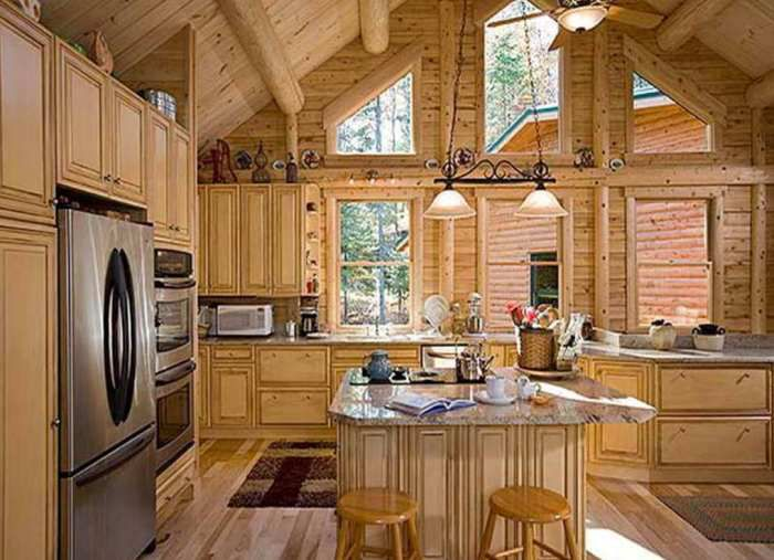 Rustic Galley Kitchen Designs