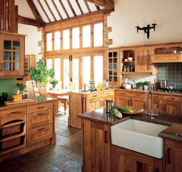 Rustic Style Kitchen Designs
