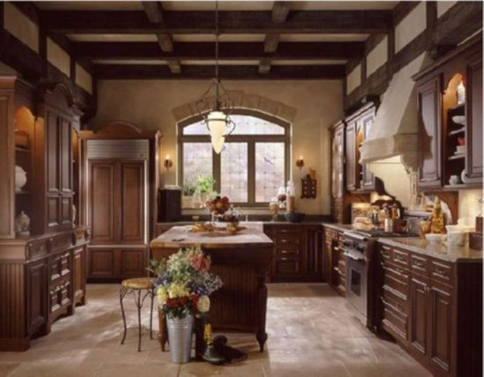 Rustic Tuscan Kitchen Designs