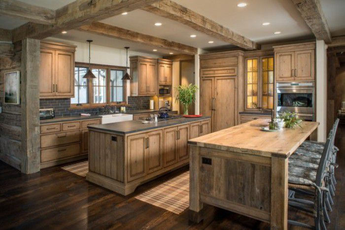 Warm Rustic Kitchen Designs