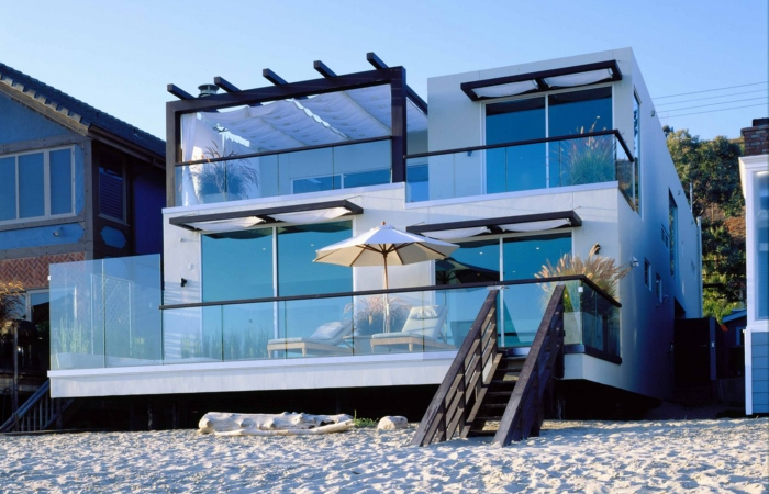 Modern Luxury Beach House Plans