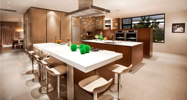 Beautiful and Elegant Open Kitchen Design Ideas