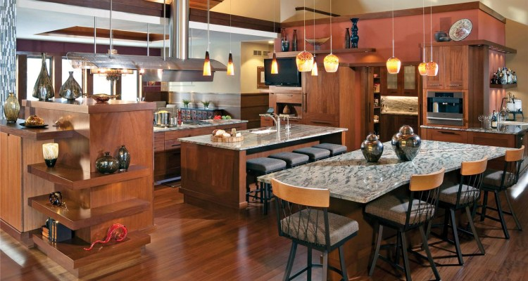 Beautiful and Elegant Open Kitchen Design Ideas