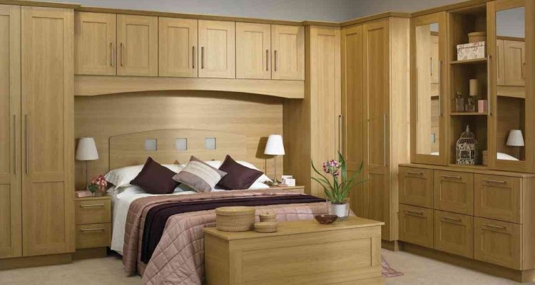 Overhead Bedroom Storage Cabinets for Your Collections