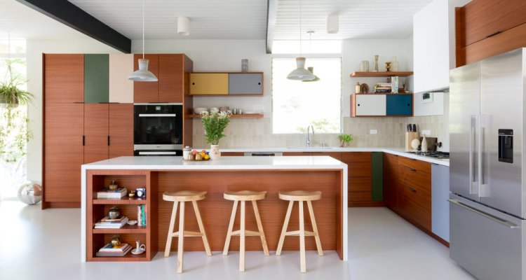 Beautiful Mid Century Modern Kitchen Design