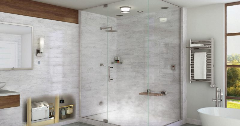 Modern steam shower design