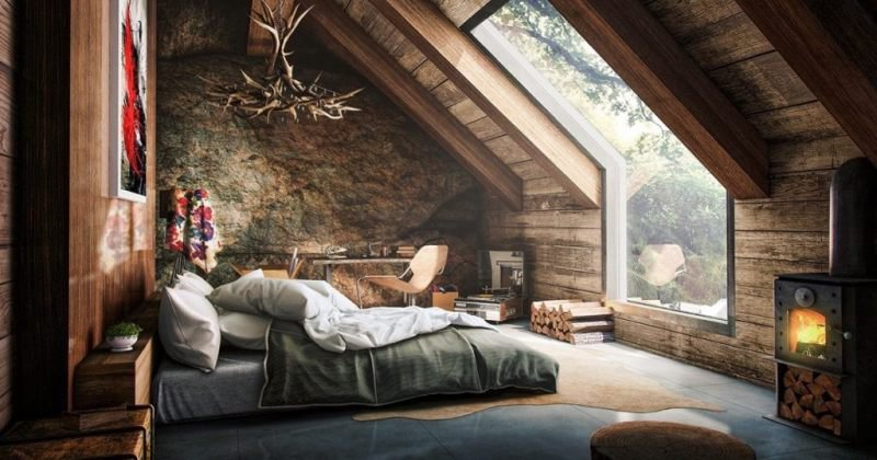 Amazing Loft bedroom designs