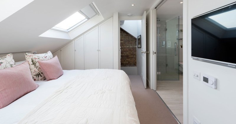 Bedroom Loft conversion designs