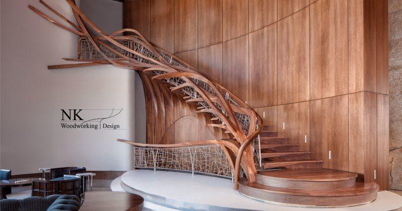 Best sculptural staircase designs