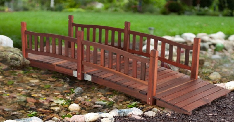 Buy wooden garden bridge