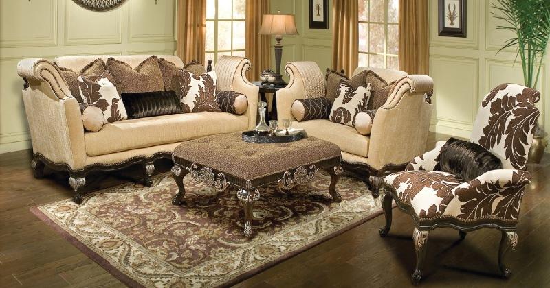 Classic italian living room furniture sets