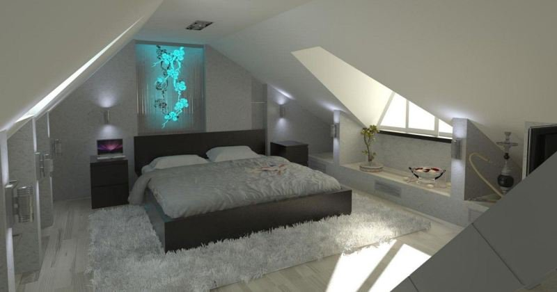 Cool Loft bedroom designs