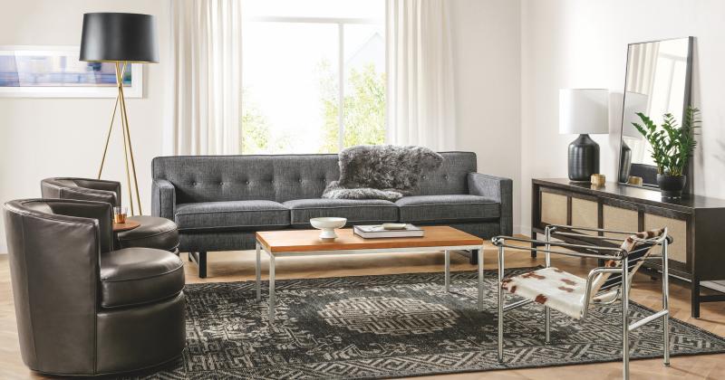 Family room furniture arrangement examples