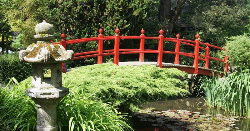 Free japanese garden bridge plans