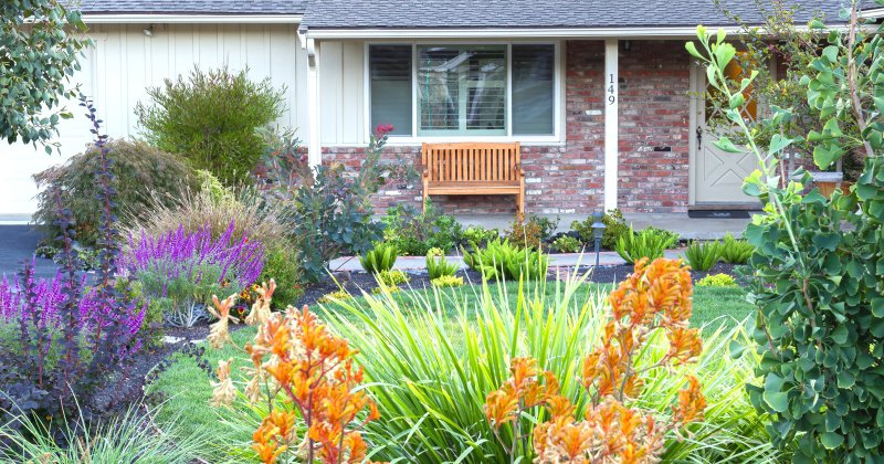 Front yard landscaping ideas simple