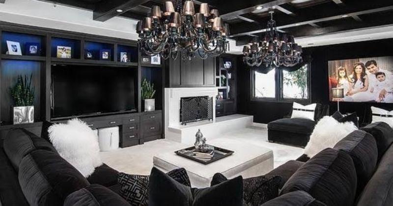 Gothic living room furniture
