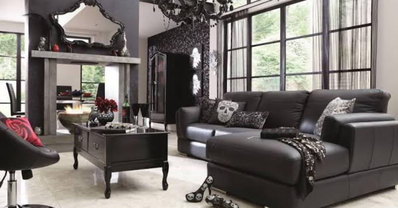 Gothic living room ideas