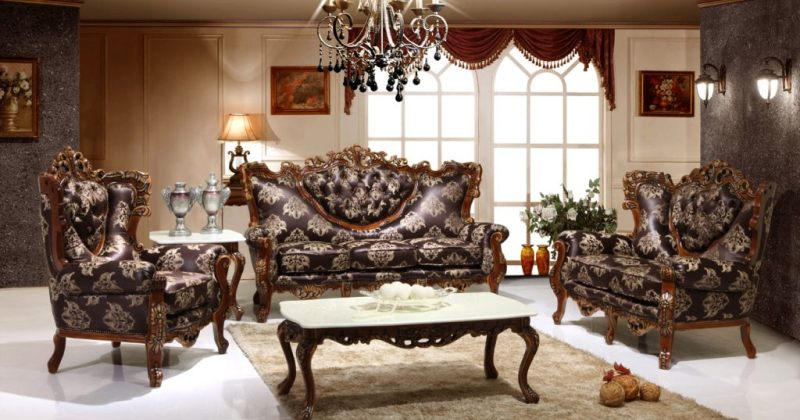Gothic style living room furniture