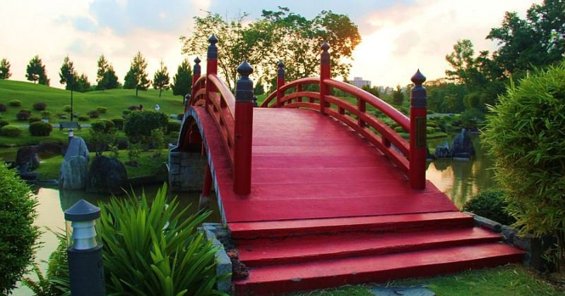 How to make japanese garden bridge