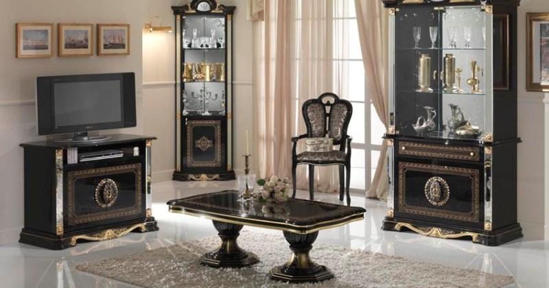 Italian living room cabinets 2 door