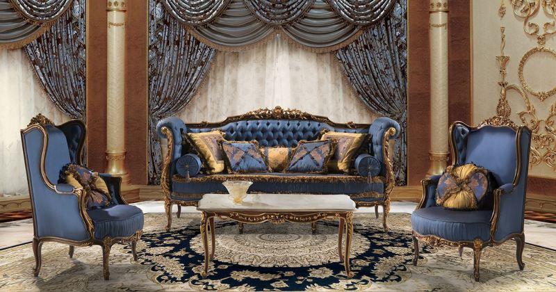 Italian style living room sets