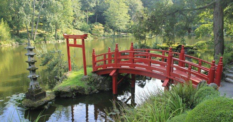 Japanese garden bridge for sale