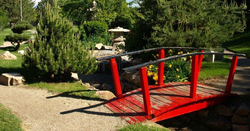 Japanese garden bridge kits