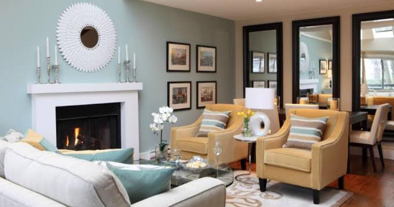 Living room color for small spaces
