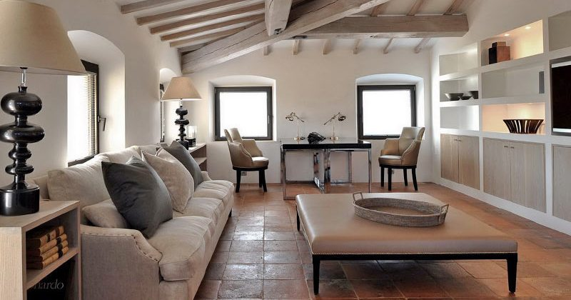 Living room in italian