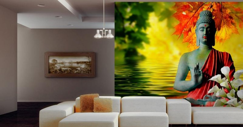 Living room murals